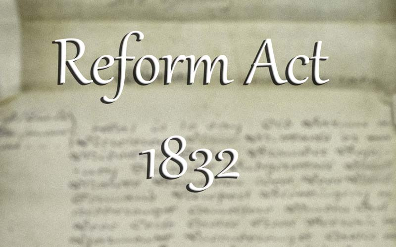 """the 1832 reform act essay Essays why did support for the whigs decline in the years 1832- 1841  a substantial reason for the unpopularity of the whigs was the limitations of the great reform act of 1832 the reform act did very little to appease the working class and was referred to as 'the great betrayal"""" now voters were required to possess a property worth."""